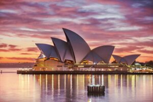 Sydney Opera House in New South Wales s