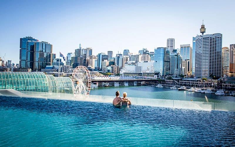 Sofitel Darling Harbour Sydney Pool Views
